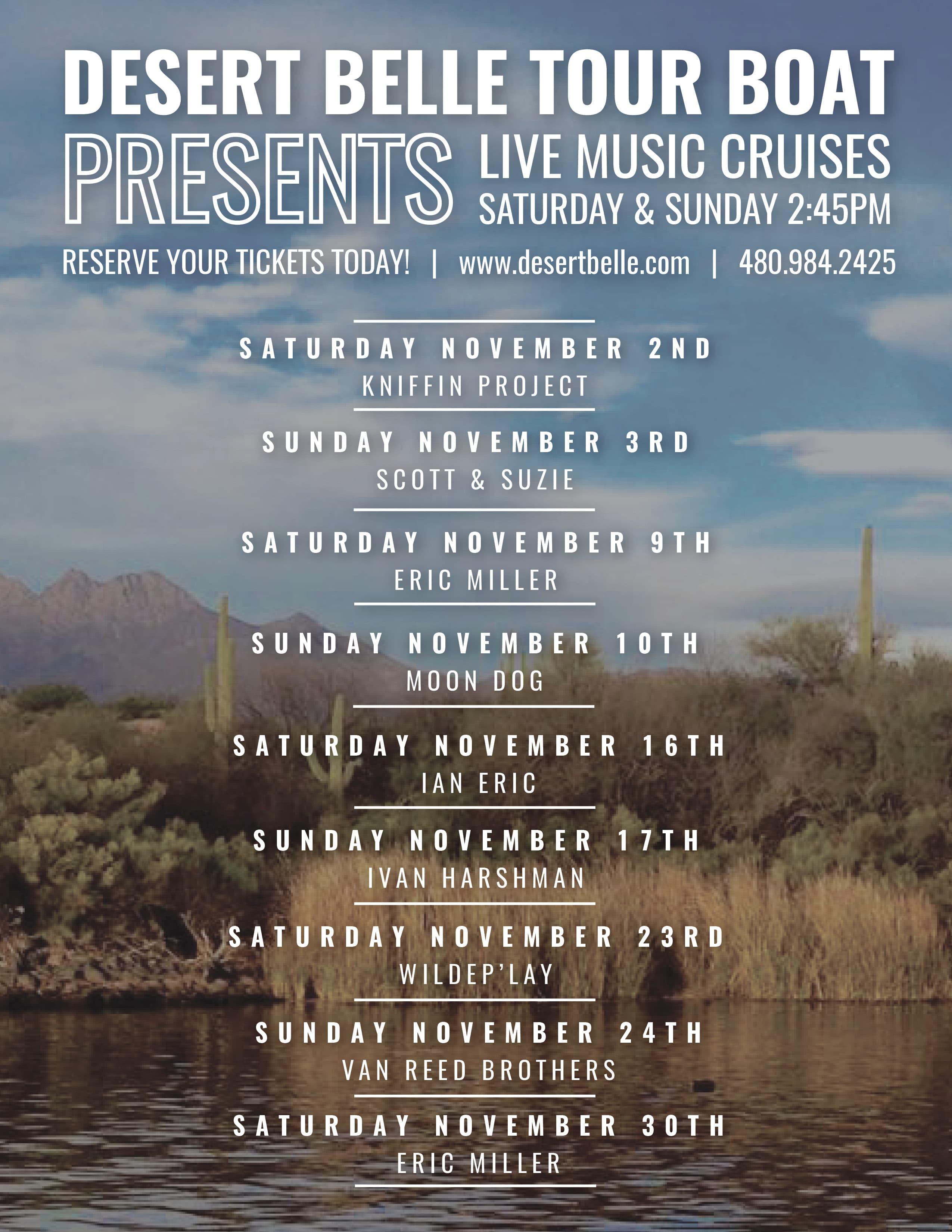 November Music Flyer